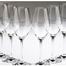 6 Stück Burschik Gläser